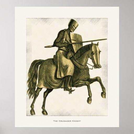 The Crusader Knight Poster