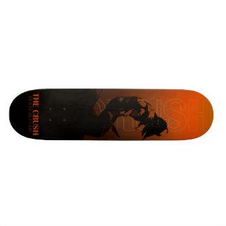 THE CRUSH SKATE BOARD DECK