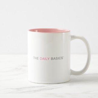 The Daily Basic Coffee Break Two-Tone Mug