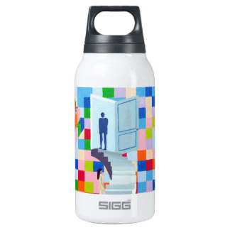 The Dalet Letter Insulated Water Bottle