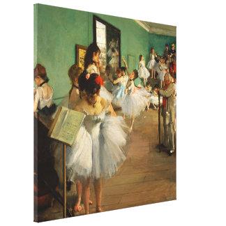 The Dance Class   Edgar Degas Canvas Print
