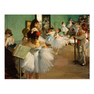 The Dance Class | Edgar Degas Postcard