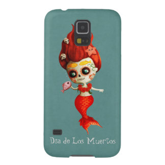 The Day of The Dead Mermaid Galaxy S5 Cover