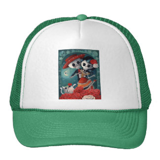 The Day of The Dead Skeleton Lovers Cap