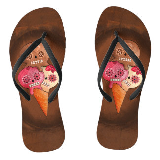 The Day of The Dead Sugar Skulls Ice Cream Thongs