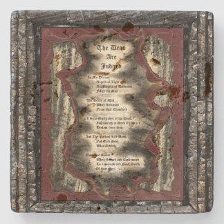The Dead Are Judged Stone Coaster