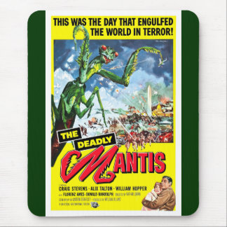 The Deadly Mantis Mouse Pad