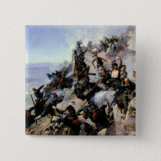 The Defence of the Eagle Aerie 15 Cm Square Badge