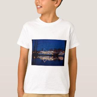 The Delta King at night - Sacramento, CA T-Shirt