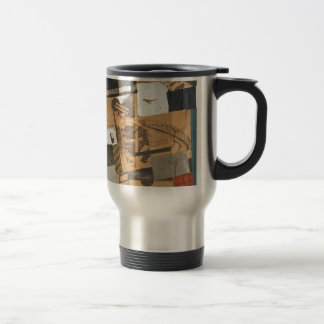 The denaturalized material. Destruction 2. by Theo Travel Mug
