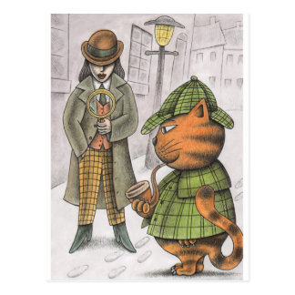 'The Detectives' Postcard