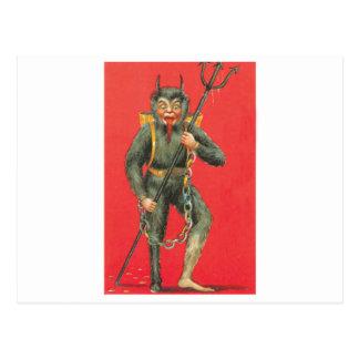 The Devil Postcard