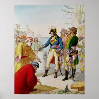 The Disembarkation of Napoleon  at Alexandria Poster
