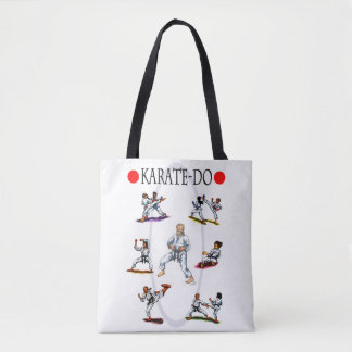 the diversity of karate-do tote bag