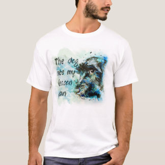 The dog at my lesson plan T-shirt
