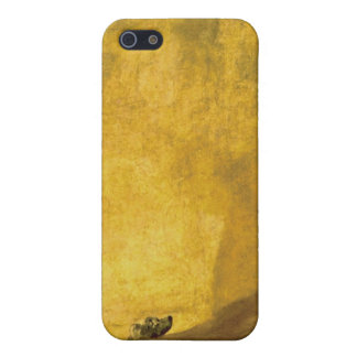 The Dog, by Francisco de Goya iPhone 5 Case