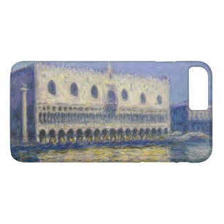 The Doges Palace (Le Palais Ducal) by Claude Monet iPhone 8 Plus/7 Plus Case