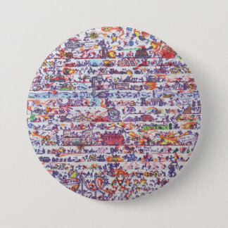 The Doodle Wars Button Badge