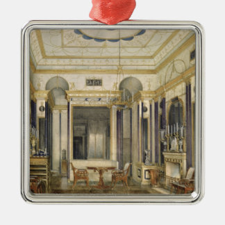 The Drawing Room of the Empress Maria Christmas Ornament