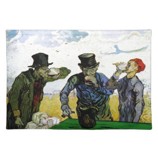 The Drinkers by Vincent van Gogh 1890 Placemat