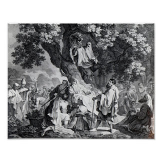 The Druids, or the Conversion of the Britons Poster