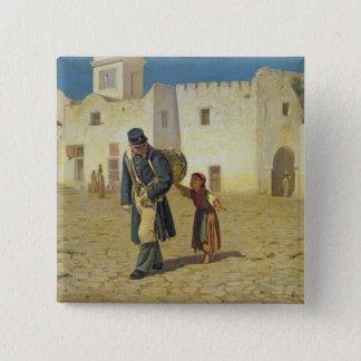 The Drum Beater, 1867 15 Cm Square Badge