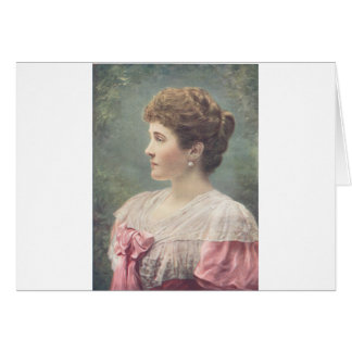 The Duchess Of Connaught Card