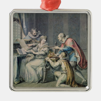 The Dukes of Northumberland And Suffolk Christmas Ornament
