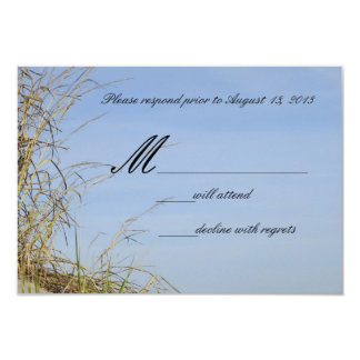 The Dunes RSVP cards