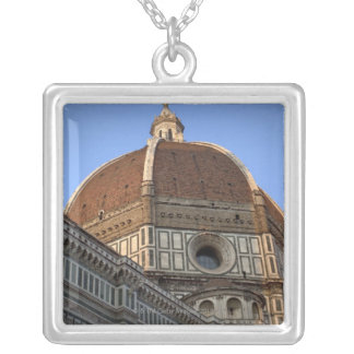 The Duomo, Florence, Italy Silver Plated Necklace