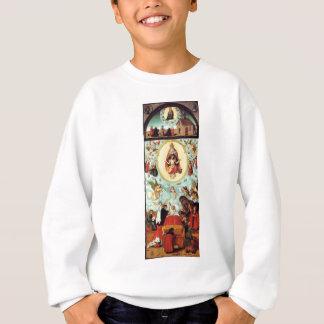The dying man by Lucas Cranach the Elder Sweatshirt