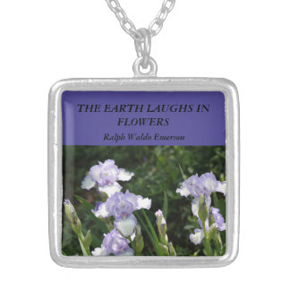 The Earth Laughs in Flowers Iris Pendant