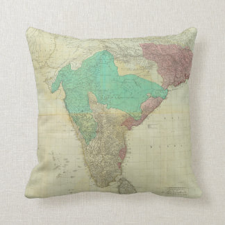 The East Indies with the Roads by Thomas Jefferys Cushion