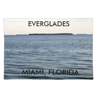 THE EDGE OF THE EVERGLADES PLACEMAT