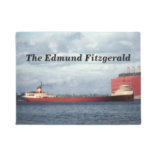The Edmund Fitzgerald Mighty Fitz to Customize Doormat