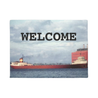 The Edmund Fitzgerald on the St. Clair River Doormat