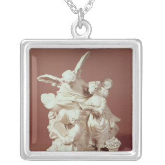 The Education of Love Silver Plated Necklace