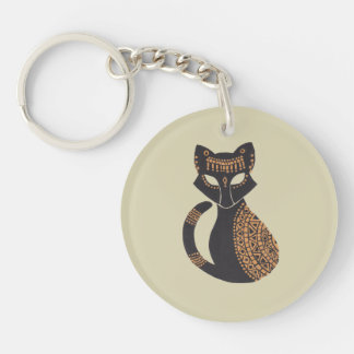 The Egyptian Cat Key Ring
