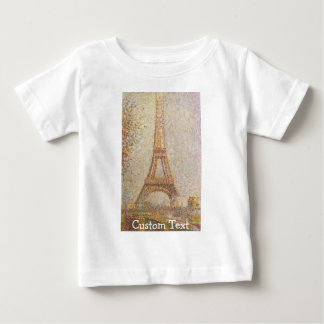 The Eiffel Tower Baby T-Shirt