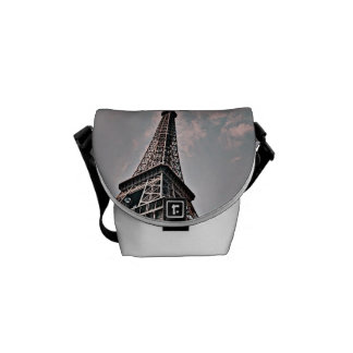 The Eiffel Tower Courier Bag