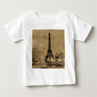 The Eiffel Tower from the Seine Paris Exposition Baby T-Shirt