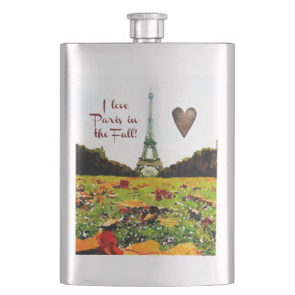 The Eiffel Tower Hip Flask