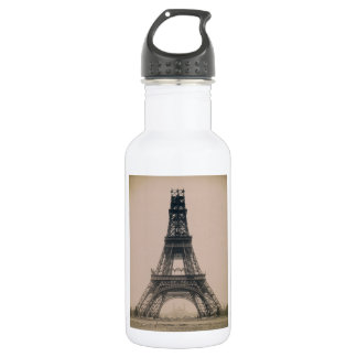 The Eiffel Tower: State of the Construction 1888 532 Ml Water Bottle