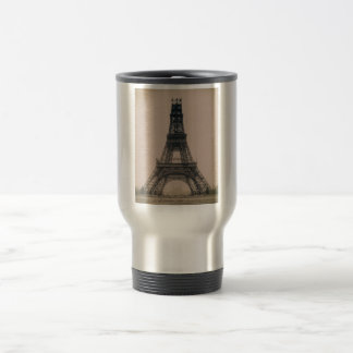 The Eiffel Tower: State of the Construction 1888 Travel Mug