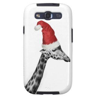 The Elegance of the Christmas Giraffe Samsung Galaxy S3 Covers