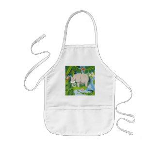 The Elephant child's apron