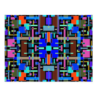 The Emotion of Color II - Color Art Postcard