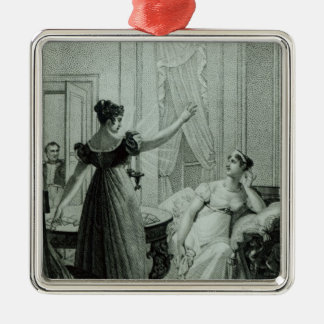 The Empress Josephine reveals the prophesy Christmas Ornament