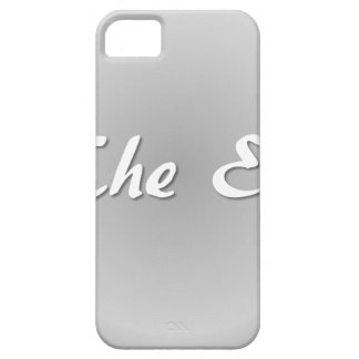 The End Grey iPhone 5 Case