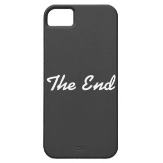 """""""The End"""" iPhone 5 Cover"""